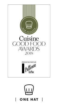Cuisine Good Food Awards 2018