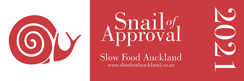 Slow Food Snail of Approval